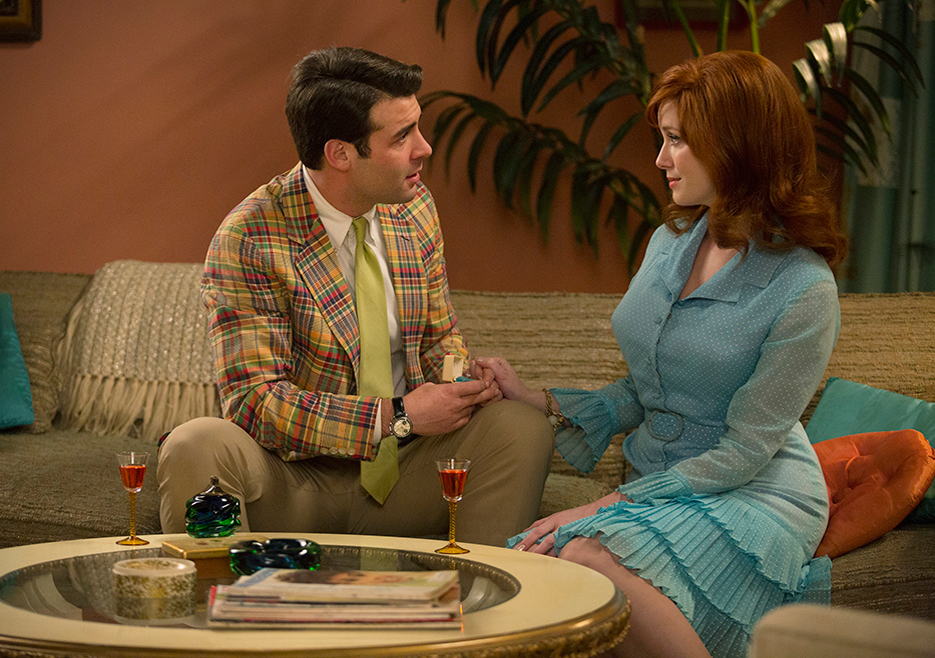 Bob Benson and Joan Mad Men