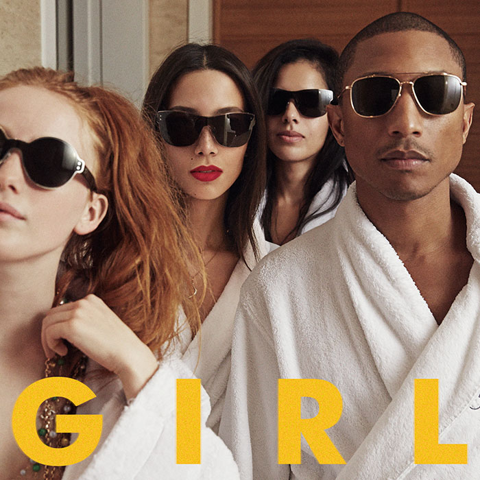 Girl album cover by Pharrell Williams