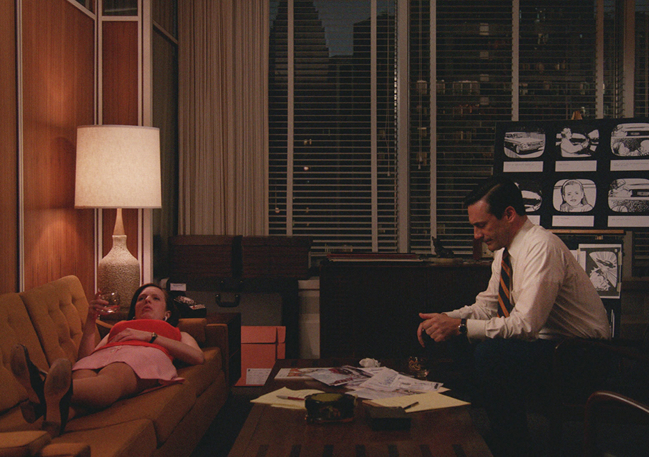 Peggy and Don Mad Men