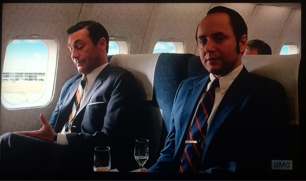Don and Pete on Mad Men