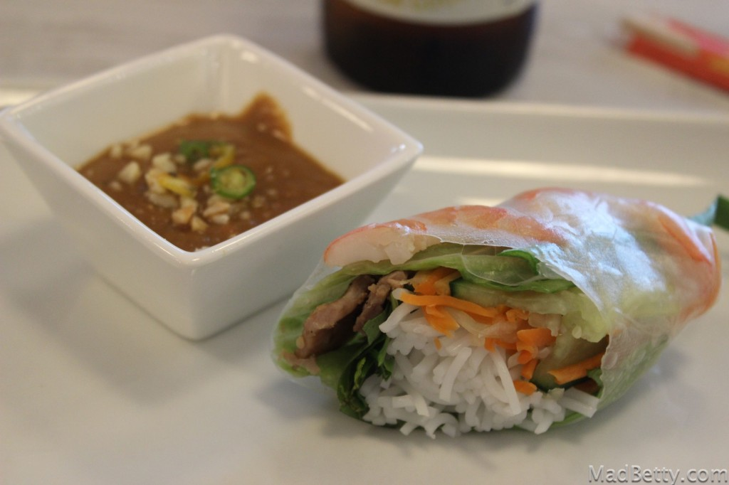 Lemongrass Pork & Shrimp Spring Rol