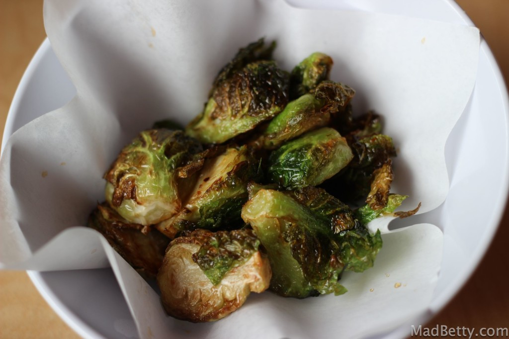 Crispy Brussels Sprouts at Roll On Sushi Diner, Austin, Texas