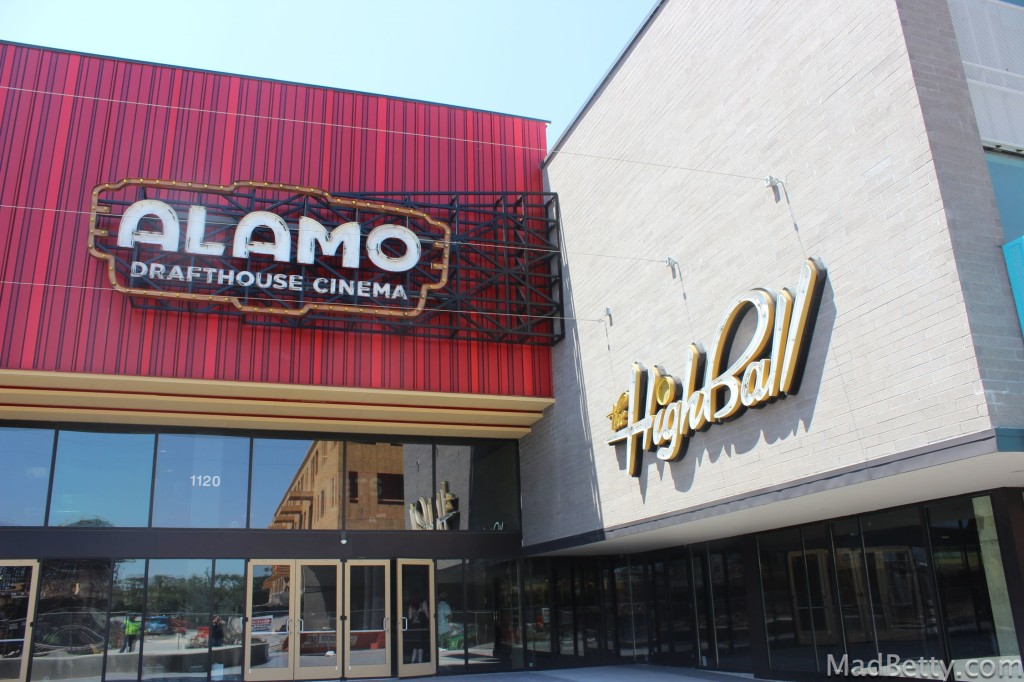 Alamo Drafthouse and The Highball, Austin, Texas