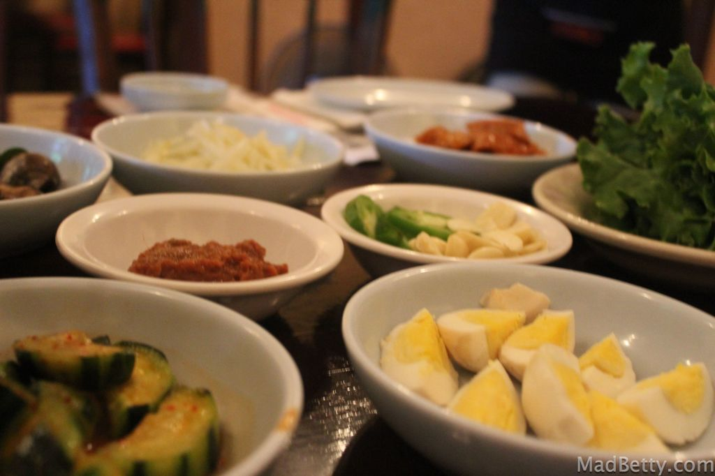 Banchan at Together Restaurant, Austin Texas