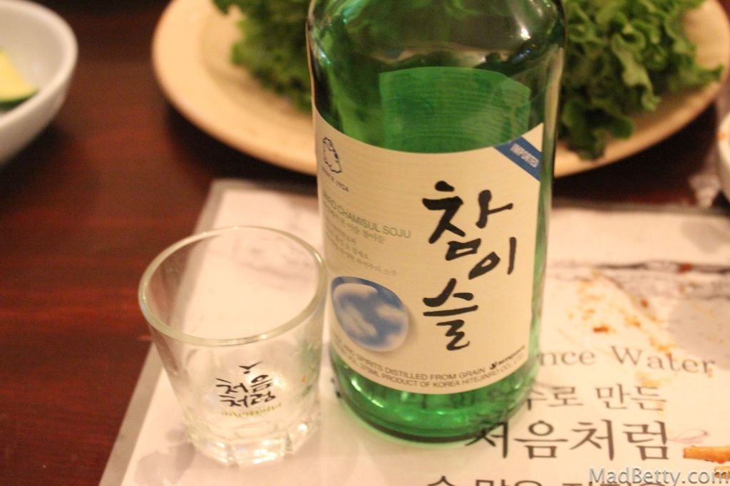 Soju at Together Restaurant, Austin Texas