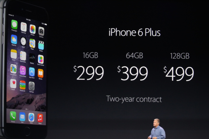 iPhone 6 Plus prices