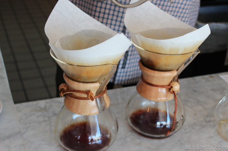 Chemex pour over coffee