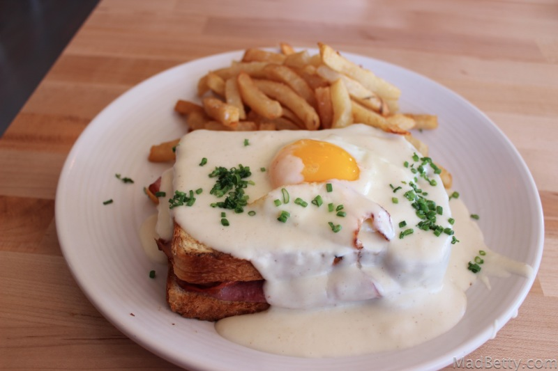 Croque Madame at Epicerie, Austin Texas