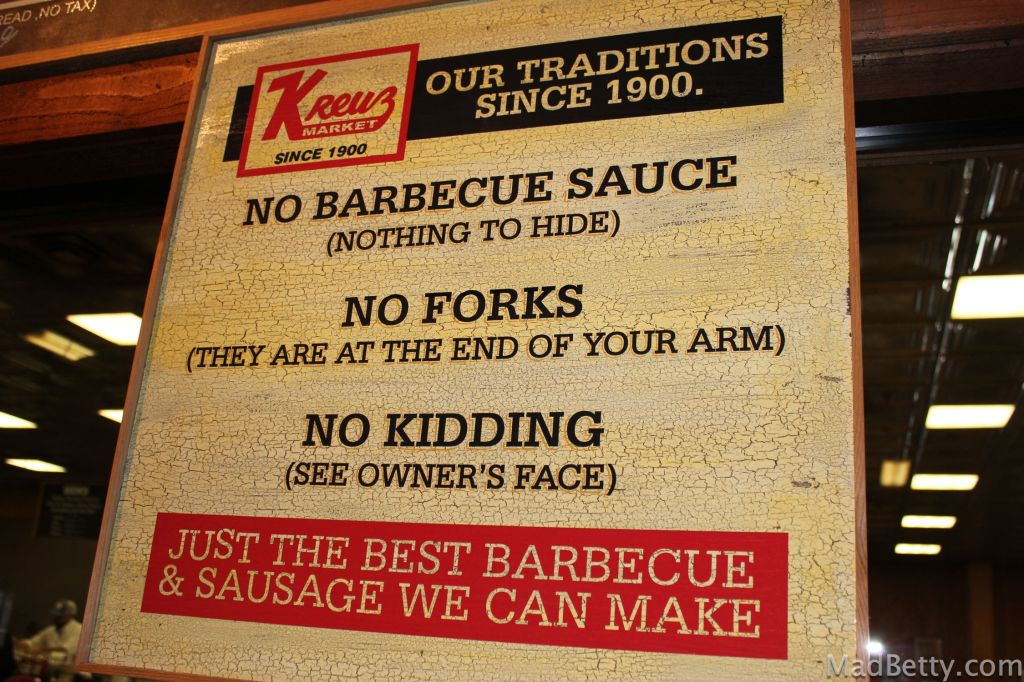 Kreuz Barbecue Lockhart Texas