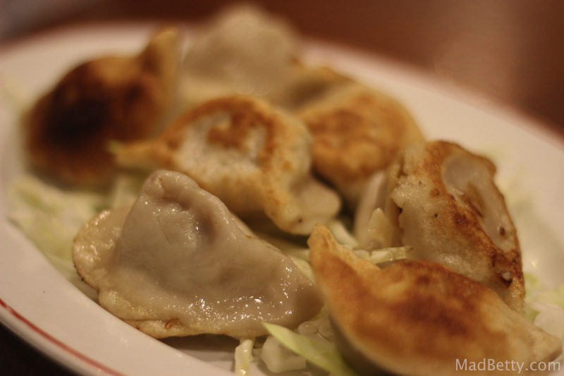 Dumplings at Sichuan House, Austin Texas