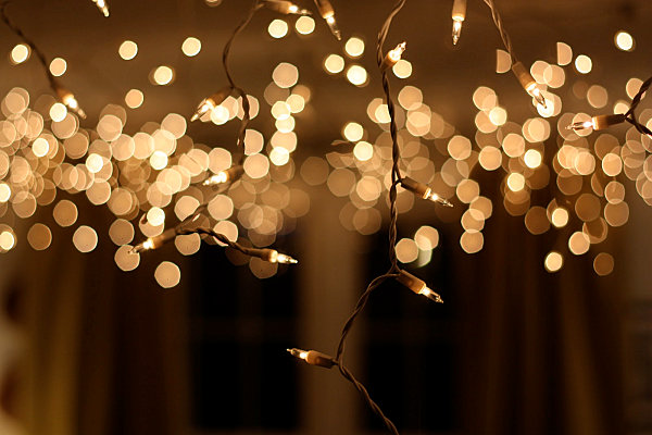 New Year's Eve lights