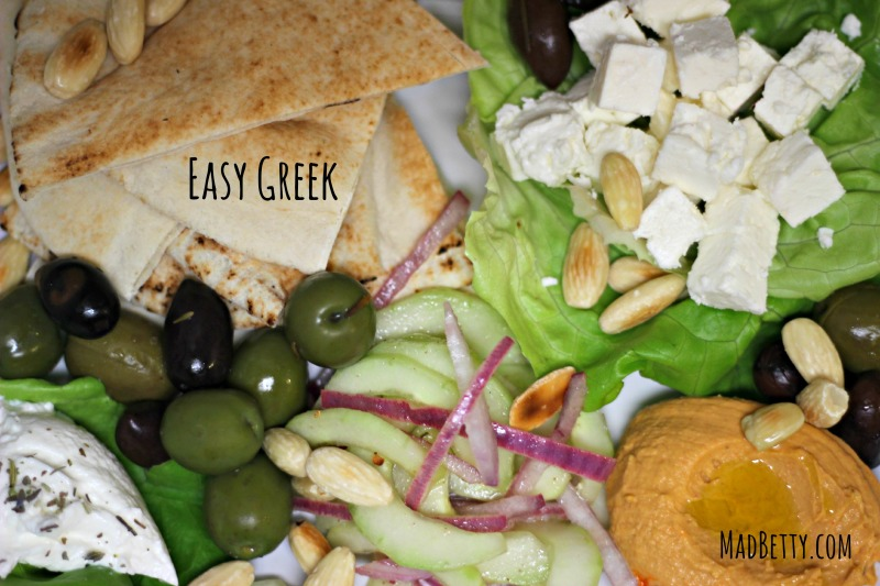 Easy Greek meal