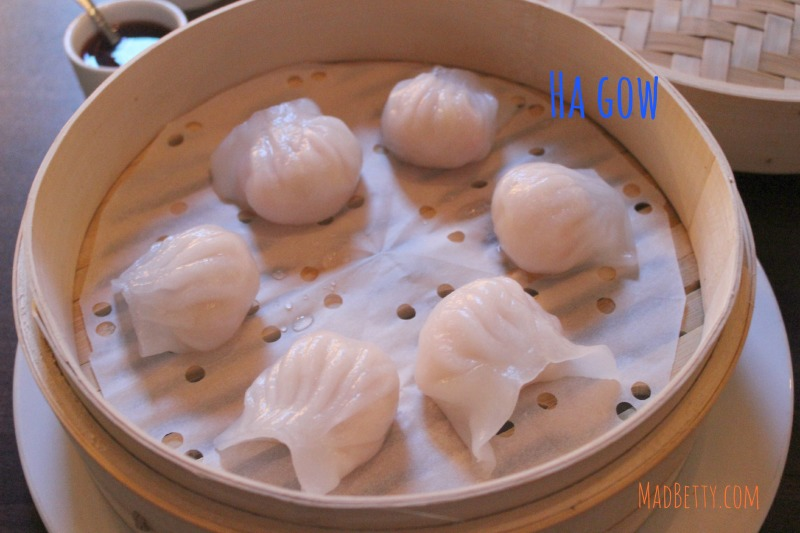 Ha Gow at dim sum at Wu Chow, Austin Texas