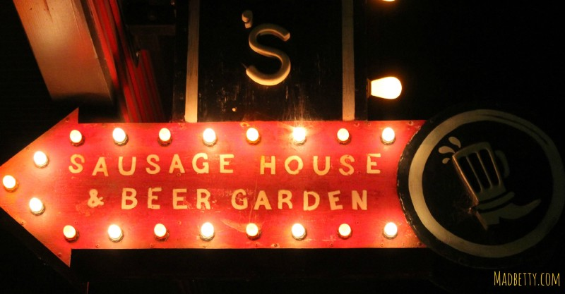 Banger's Sausage House and Beer Garden, Rainey Street Austin Texas