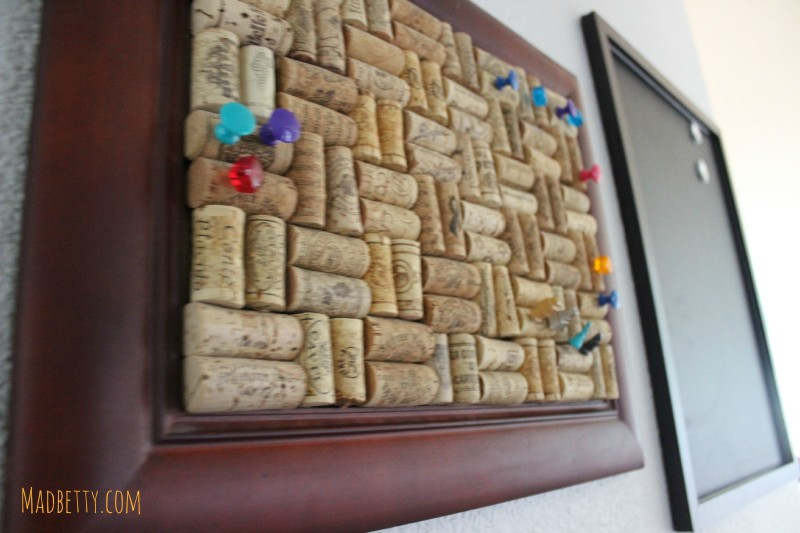 Corkboard and Magnetic Chalkboard