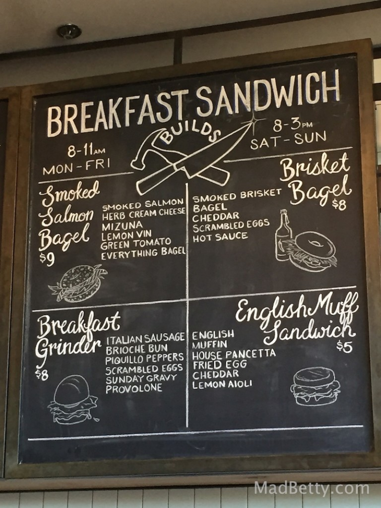 Breakfast Sandwiches at St. Philip, Austin Texas