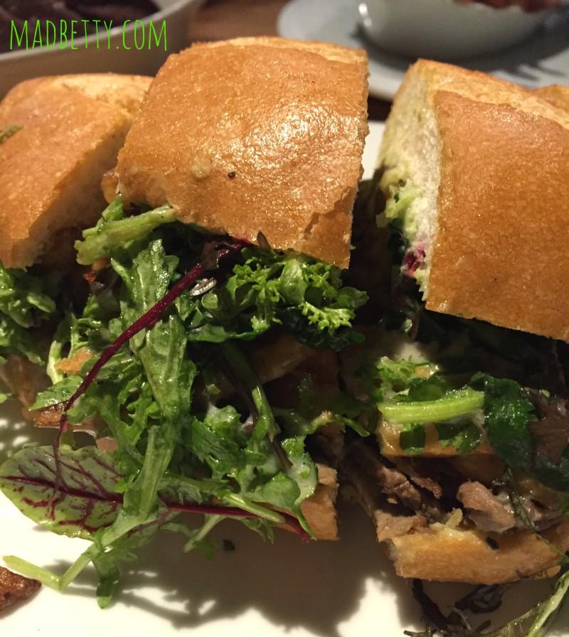 Mister T sandwich at Austin, Texas