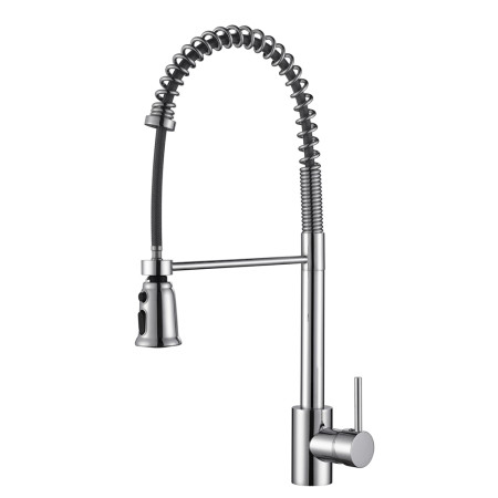 Ruvati Commercial Style Pullout Spray, Polished Chrome