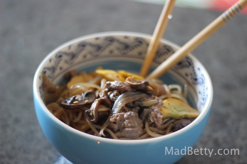Japanese Beef Noodles