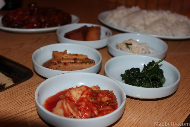 Banchan at Korea House, Austin Texas