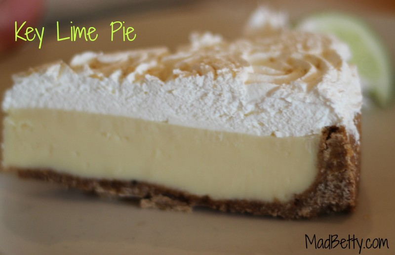 Key Lime Pie, Kerbey Lane, Austin Texas