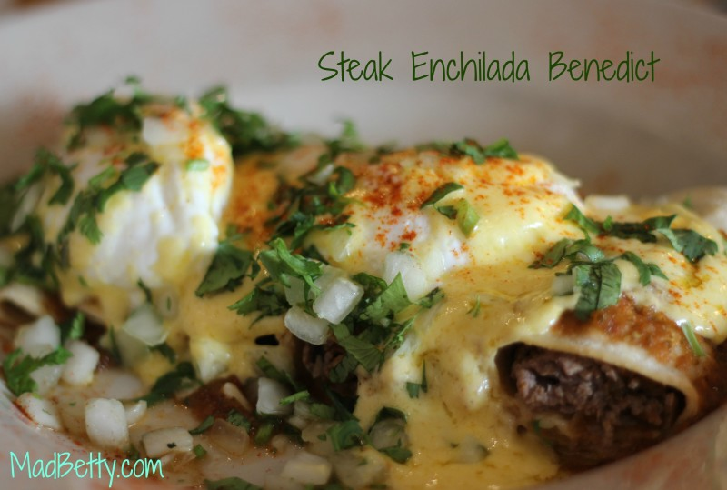 Steak Enchilada Benedict, Kerbey Lane, Austin Texas