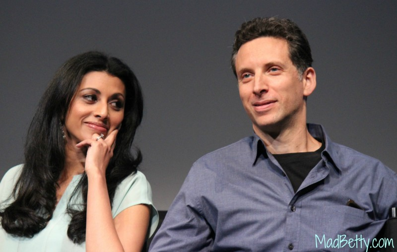 Royal Pains Reshma Shetty and Ben Shenkman