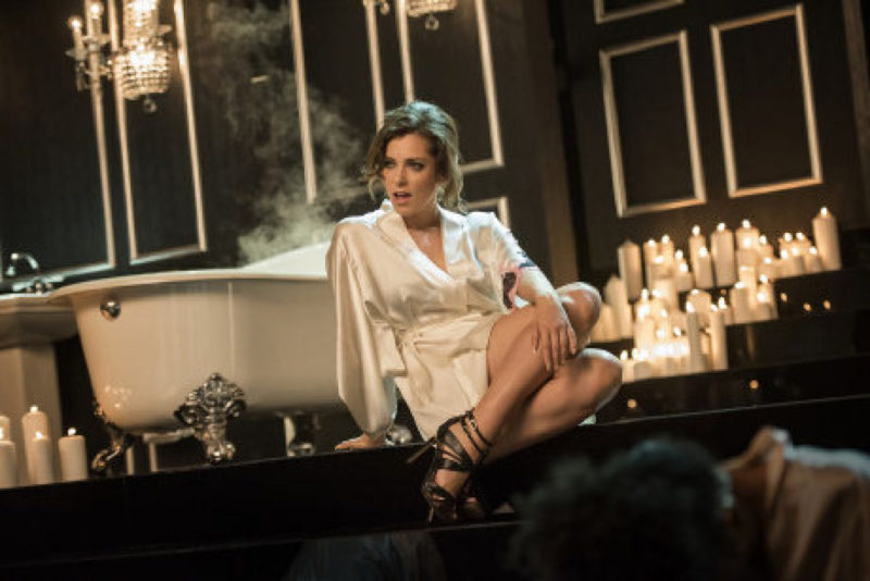 "ANDATORY CREDIT; NO ARCHIVE; NO SALES; NORTH AMERICAN USE ONLY Crazy Ex-Girlfriend -- ""Josh Just Happens to Live Here!"" -- Image CEG101_0022 -- Pictured: Rachel Bloom as Rebecca Bunch -- Photo: Eddy Chen/The CW -- �© 2015 The CW Network, LLC. All Rights Reserved."