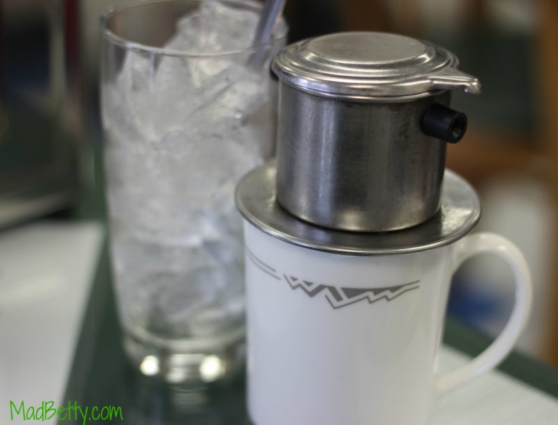 Vietnamese Coffee at Tam Deli