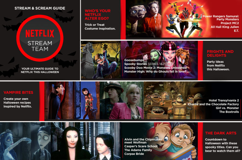 Netflix Stream and Scream Guide