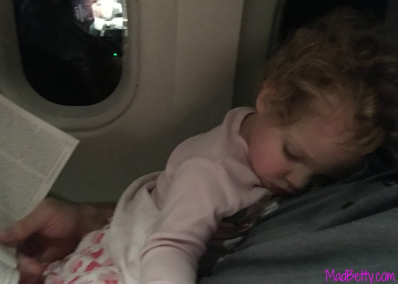 Airplane snuggles